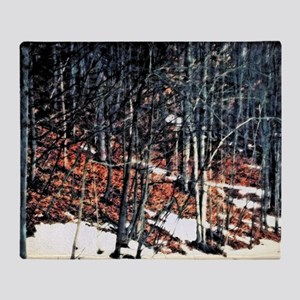 Backwoods Throw Blanket