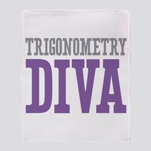 Trigonometry DIVA Throw Blanket