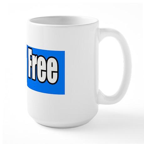 Break-Free-Bumper-Sticker Large Mug