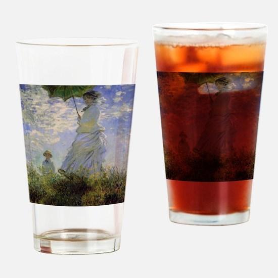 monet 2 Drinking Glass
