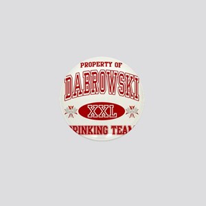 Dabrowski Polish Drinking Team Mini Button