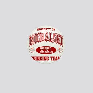 Michalski Polish Drinking Team Mini Button
