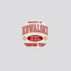 Kowalski Polish Drinking Team Mini Button