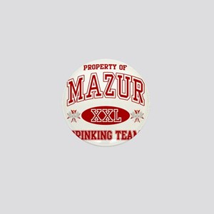 Mazur Polish Drinking Team Mini Button