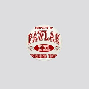 Pawlak Polish Drinking Team Mini Button
