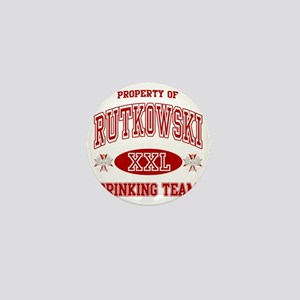 Rutkowskii Polish Drinking Team Mini Button