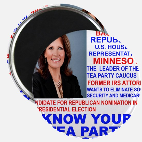 Michele-Bachmann-Tea-Party-small Magnet