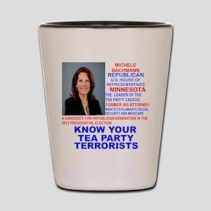 Michele-Bachmann-Tea-Party-small Shot Glass