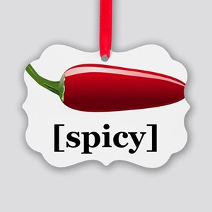 Spicy Picture Ornament