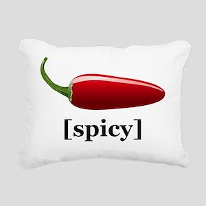 Spicy Rectangular Canvas Pillow