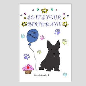 ScottishTerrier Postcards (Package of 8)