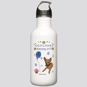 ChihuahuaTan Stainless Water Bottle 1.0L