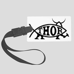 Thor Fish Large Luggage Tag