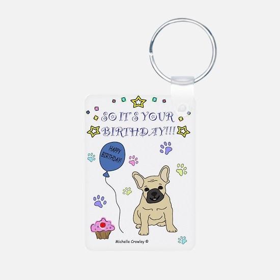 FrenchBulldogFawn Keychains