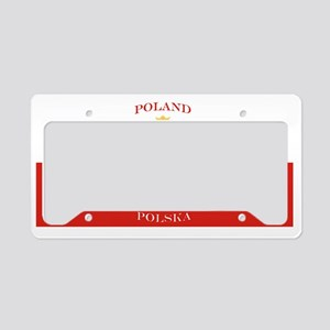 Poland Polska License Plate License Plate Holder