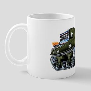 M4A1ShermanBlown Mug