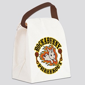 rockabunny-T Canvas Lunch Bag