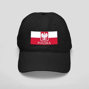 Polska Flag White Eagle LP Black Cap