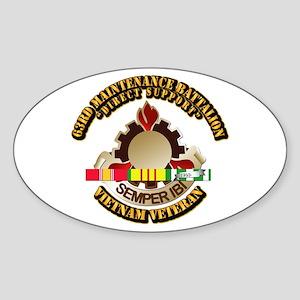 Army - 63rd Maintenance Battalion w SVC Ribbon Sti
