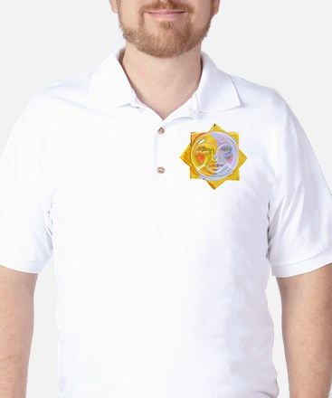 iredscentSUNmoon Golf Shirt