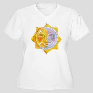 LGiredescentSUNmo Women's Plus Size V-Neck T-Shirt