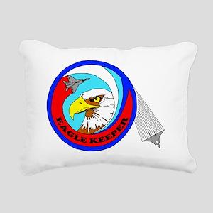F-15 Eagle Keeper Rectangular Canvas Pillow