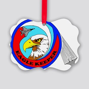 F-15 Eagle Keeper Picture Ornament