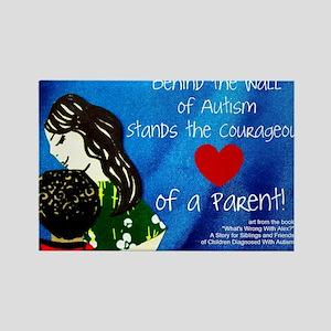 Autism awareness parents Rectangle Magnet