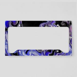 Crazy Purple License Plate Holder