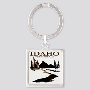 Idaho the Last best place Square Keychain