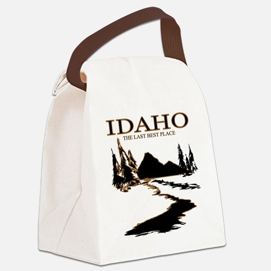 Idaho the Last best place Canvas Lunch Bag