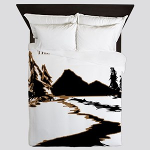 Idaho the Last best place Queen Duvet