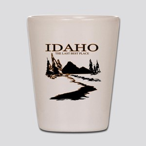 Idaho the Last best place Shot Glass