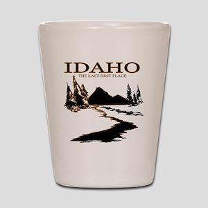 Idaho the Last best place Shot Glass