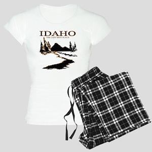 Idaho the Last best place Women's Light Pajamas