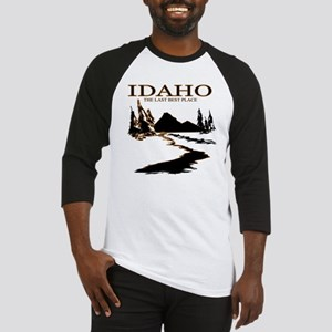 Idaho the Last best place Baseball Jersey
