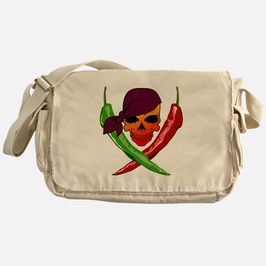 Chili Pirate-blk Messenger Bag