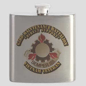 Army - 63rd Maintenance Battalion Flask