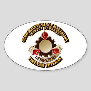 Army - 63rd Maintenance Battalion Sticker (Oval)