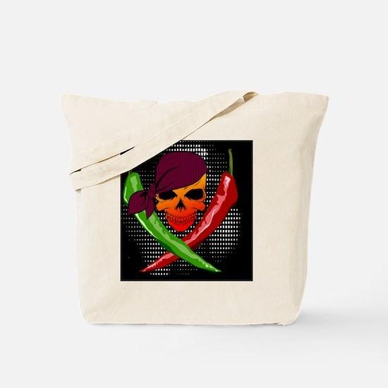 Chili Pirate-throw Tote Bag