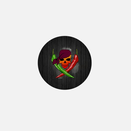 Chili Pirate-smll-button Mini Button