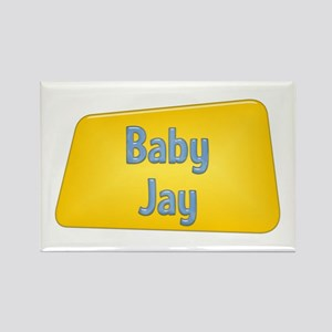Baby Jay Rectangle Magnet