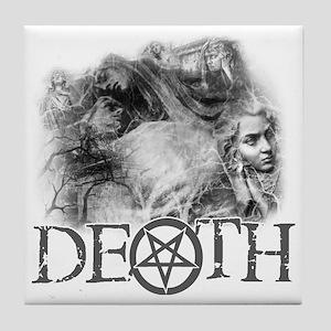 DEATH Tile Coaster