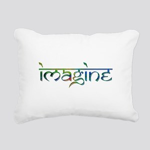 Imagine Rectangular Canvas Pillow