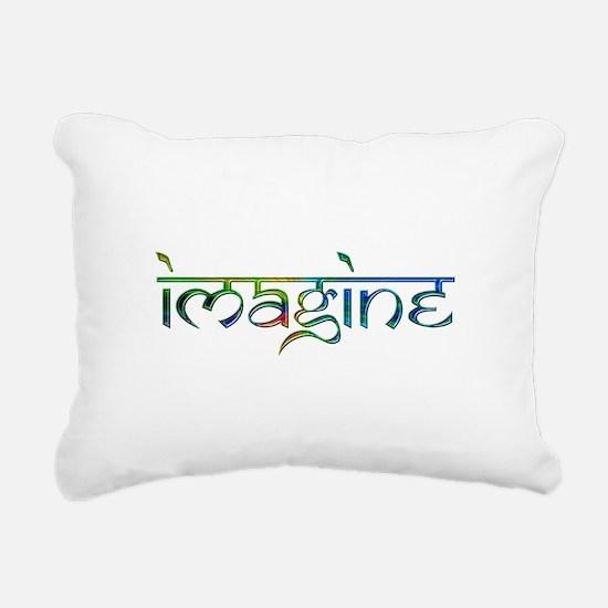Imagine Rectangular Canvas Pillow
