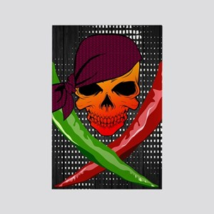 Chili Pirate-poster Rectangle Magnet