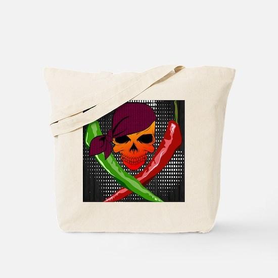 Chili Pirate-poster Tote Bag