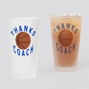 Thank You Basketball Coach Gifts Drinking Glass