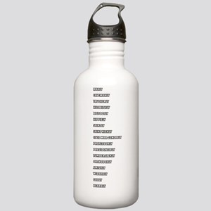 ruler_WHITE_CORRECTED Stainless Water Bottle 1.0L