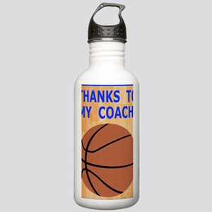 Thank You Basketball C Stainless Water Bottle 1.0L